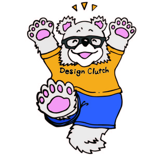 【LINEスタンプ】Design Clutchマスコット
